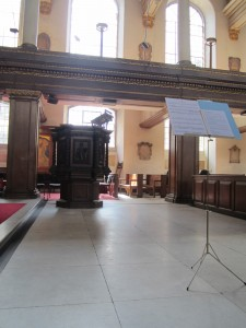 Stage set to go at St James', Piccadilly