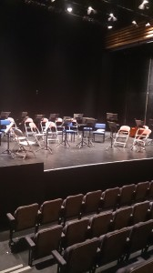 Stage set at the Artrix