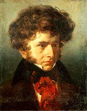Berlioz by Emile Signol, 1832