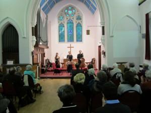 Duport Ensemble in performance at York Street Methodist Church, Broadstairs