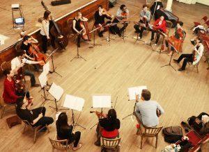 Ensemble Longbow at the Maison Dieu Dover. 20.5.16